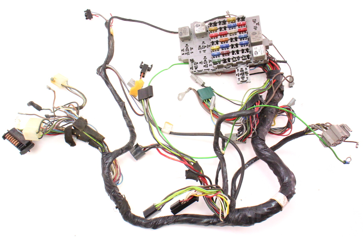dash interior wiring harness fuse box 81 84 vw rabbit gti mk1 175 941 813 b carparts4sale