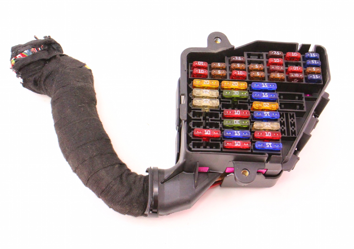 Mk4 Golf Fuse Box Radio : Under dash fuse box panel pigtail vw jetta golf