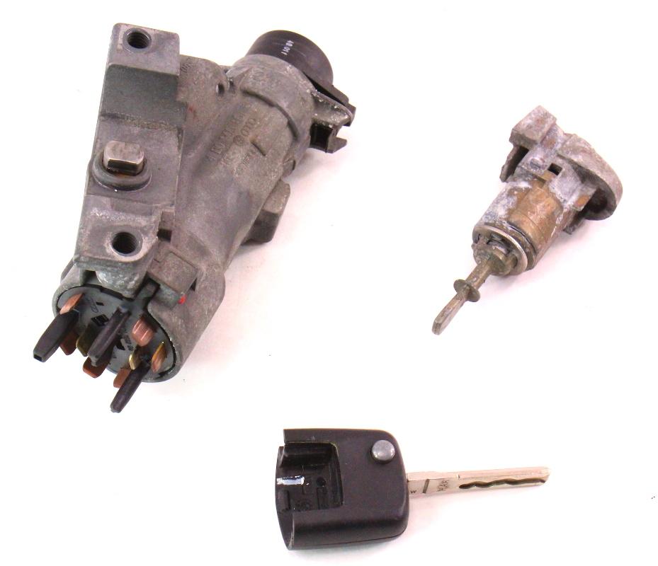 2001 Vw Beetle Ignition Key: Lock Key Set Ignition Door Handle 99-05 VW Jetta Golf MK4