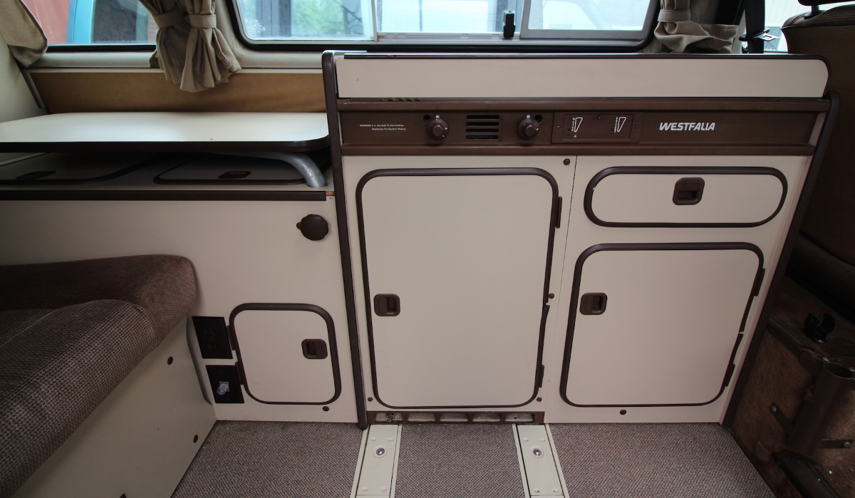Full Camper Kitchen Cabinets 80-91 VW Vanagon T3 Westfalia ...