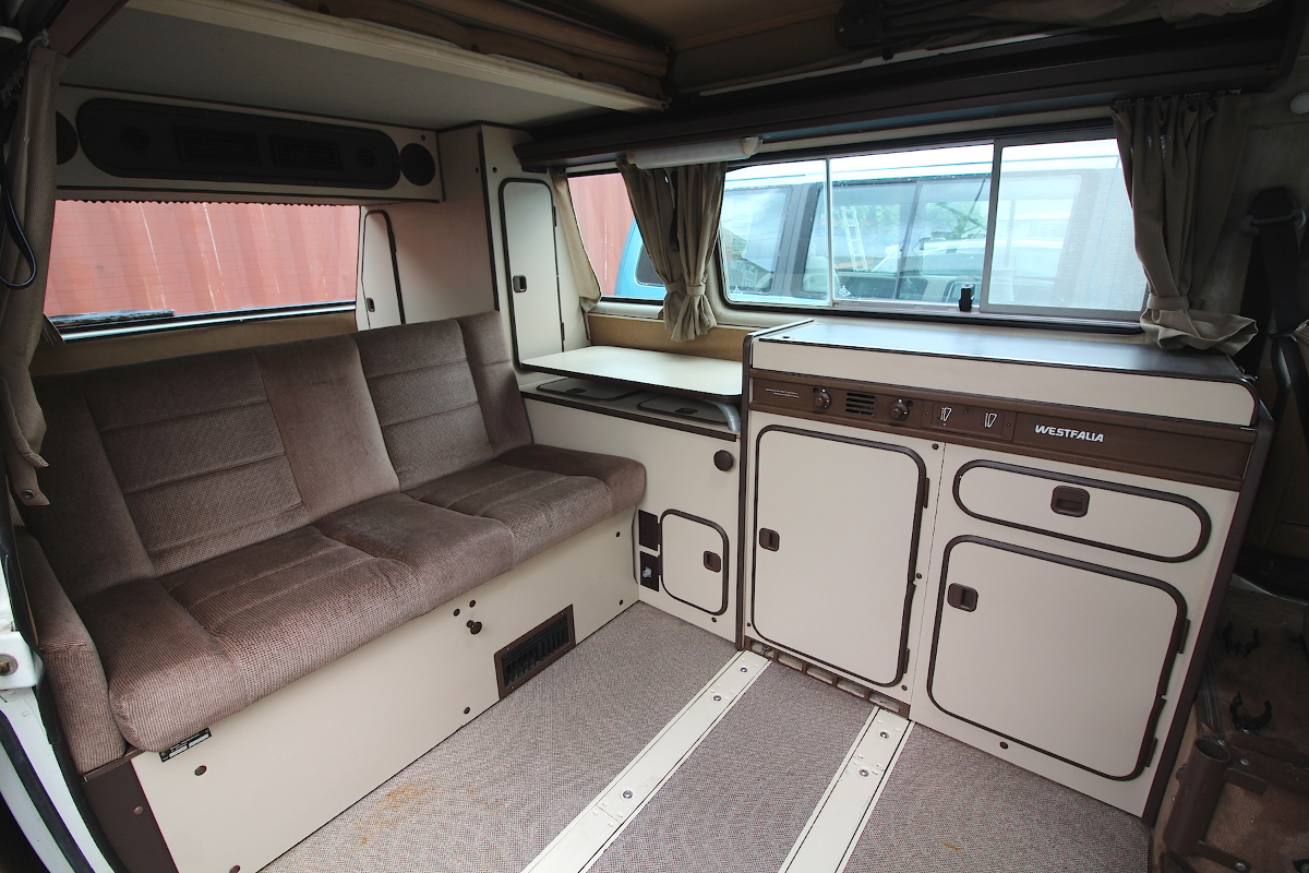 Full Camper Kitchen Cabinets 80-91 VW Vanagon T3 Westfalia Westy - Iowa Pickup | eBay