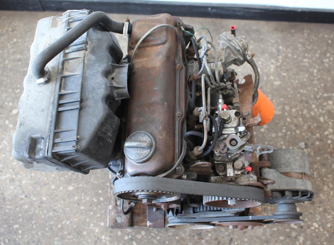 complete  diesel engine   vw jetta rabbit pickup caddy mk long block ebay