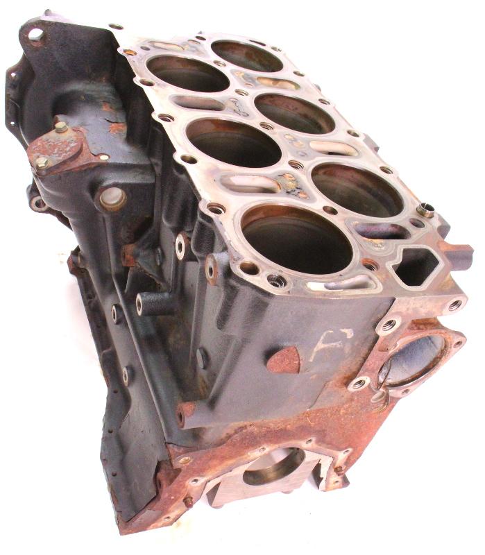Vw Air Cooled Engine Codes List: Engine Cylinder Block 97-01 VW Eurovan 2.8 12V VR6 AES