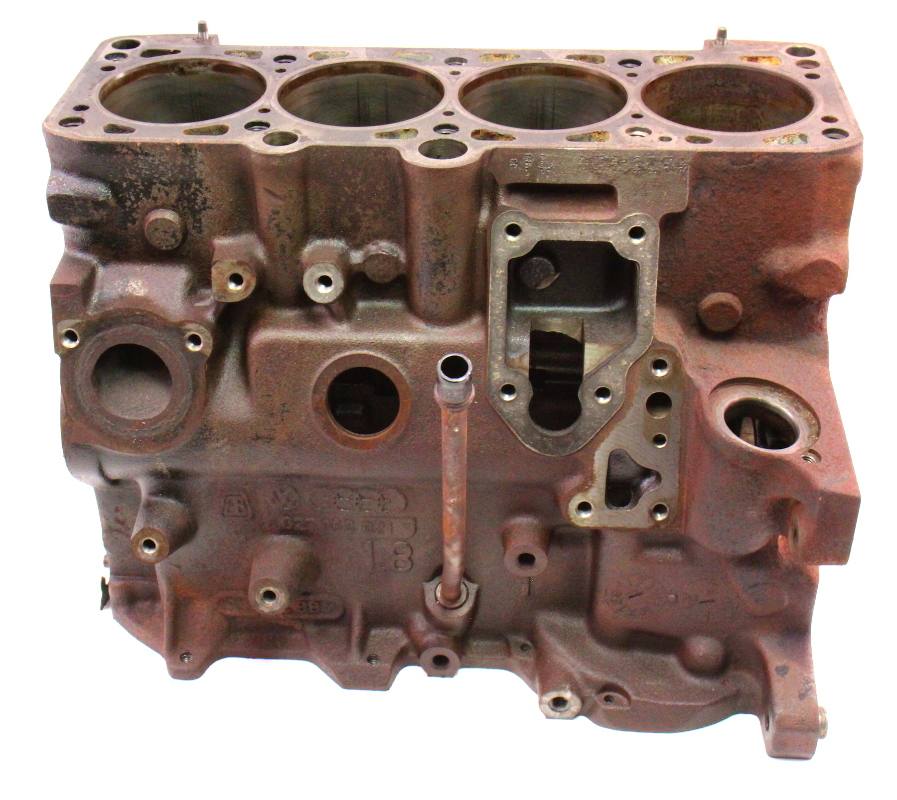 Engine Bare Cylinder Block 87 89 Vw Jetta Gli Golf Gti Mk2