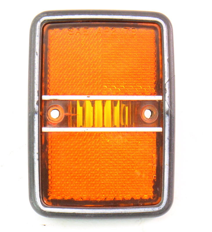 Side Marker Light 79-84 VW Rabbit MK1 Quarter Panel Lamp