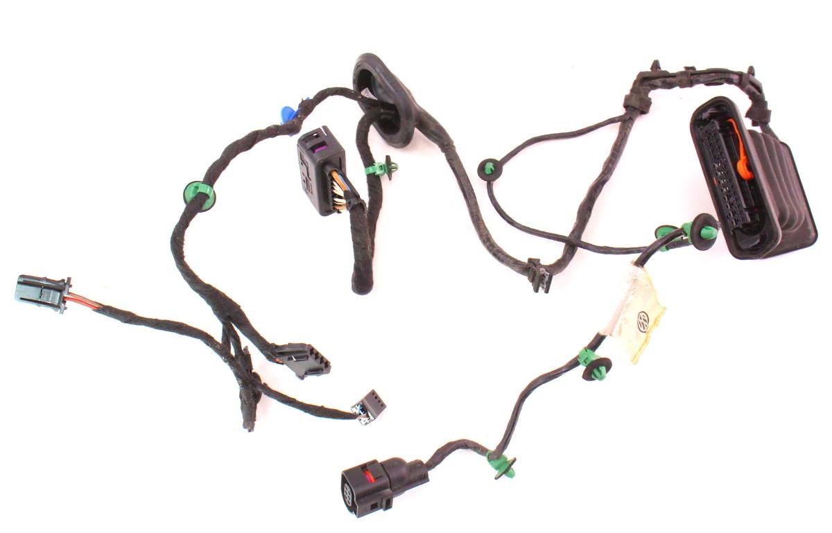 lh rear door wiring harness 06 09 vw rabbit gti mk5 4 door. Black Bedroom Furniture Sets. Home Design Ideas