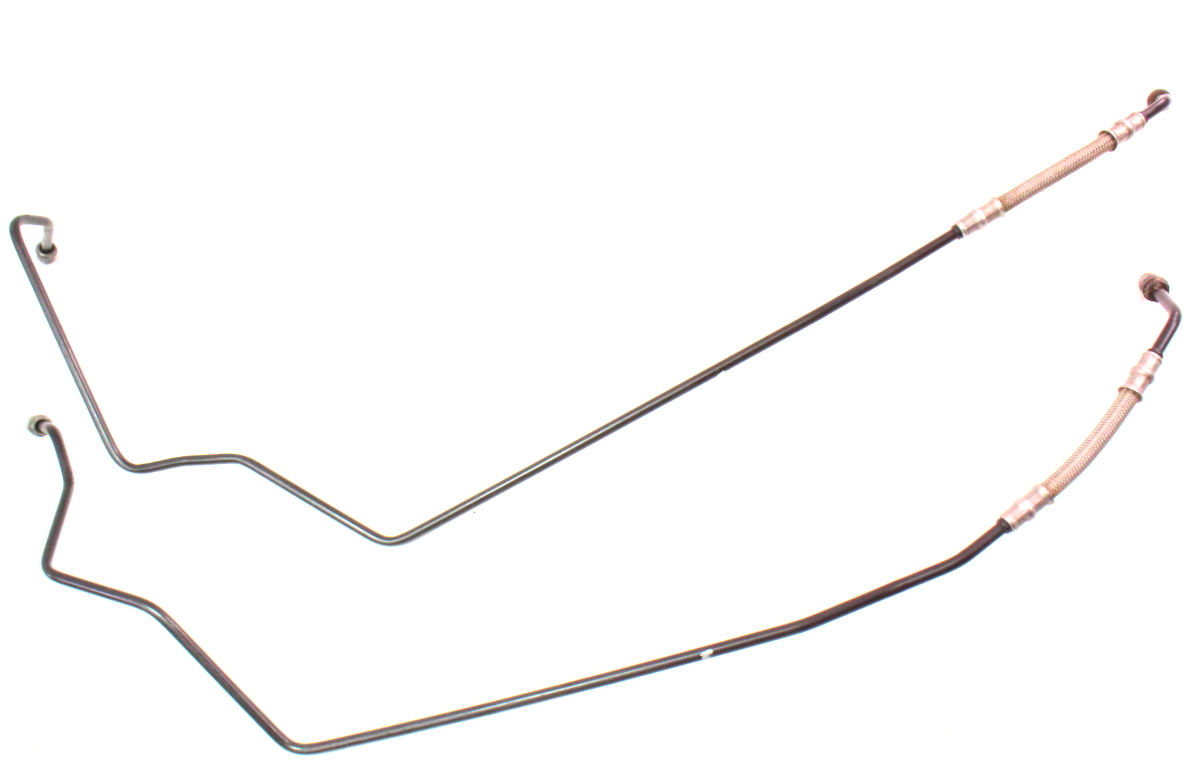 Steel Braided Brake Lines At Master Cylinder : Front steel braided abs to master brake lines vw