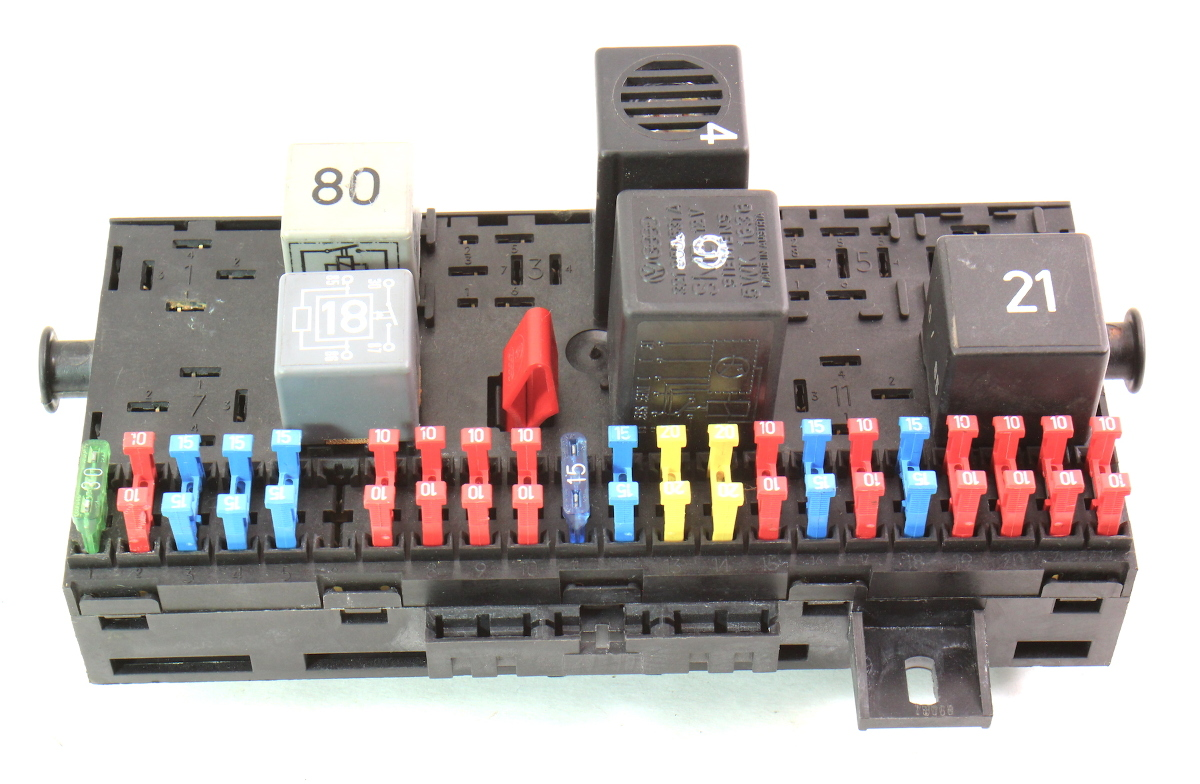 Fuse Box Fuse Block Fusebox 85-92 Vw Jetta Golf Gti Mk2 Genuine