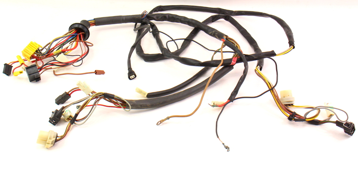 Headlight Engine Bay Wiring Harness 89-92 Vw Jetta Golf Gti Mk2 1 8 8v