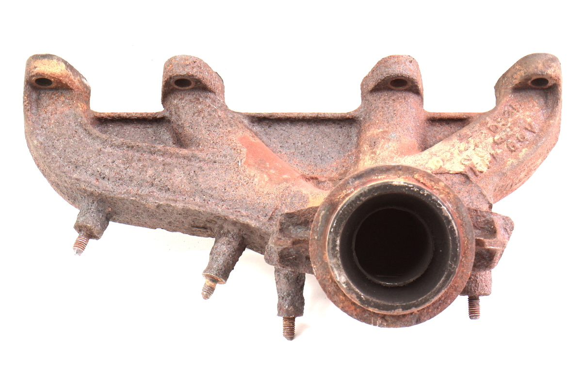 exhaust manifold   vw jetta golf mk  genuine     carpartssale