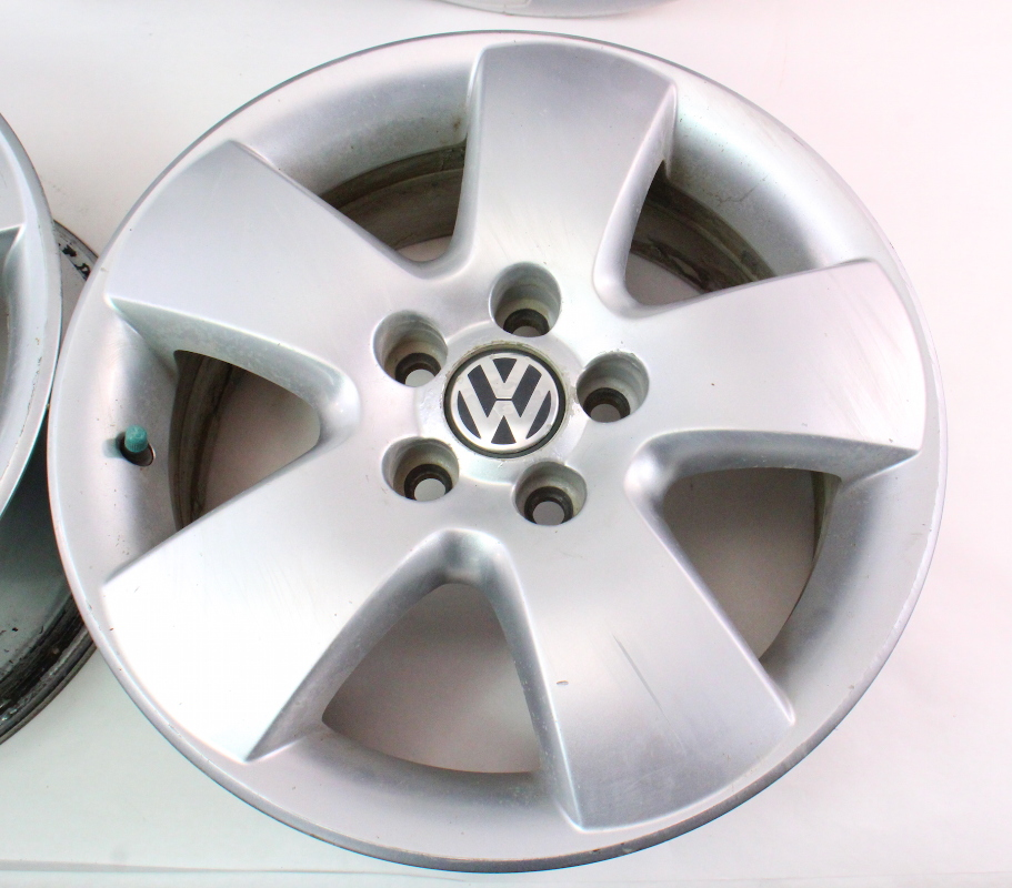 stock     ronal alloy wheel rim set   vw jetta golf beetle mk carpartssale