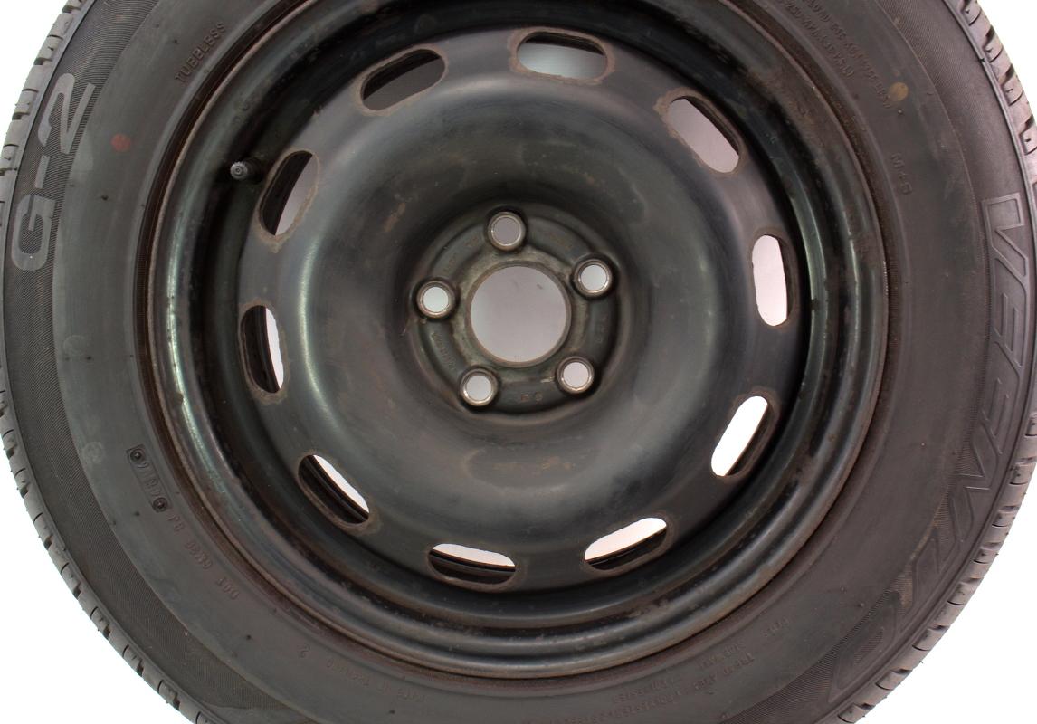 "Full Size Spare 15"" 5x100 Steel Wheel Rim Tire 99-05 VW ..."