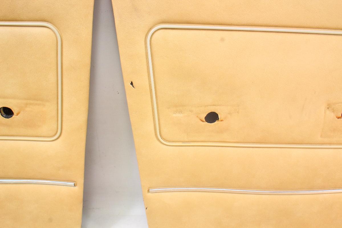 Interior Door Card Panel Full Set VW Rabbit MK1 - Genuine ...
