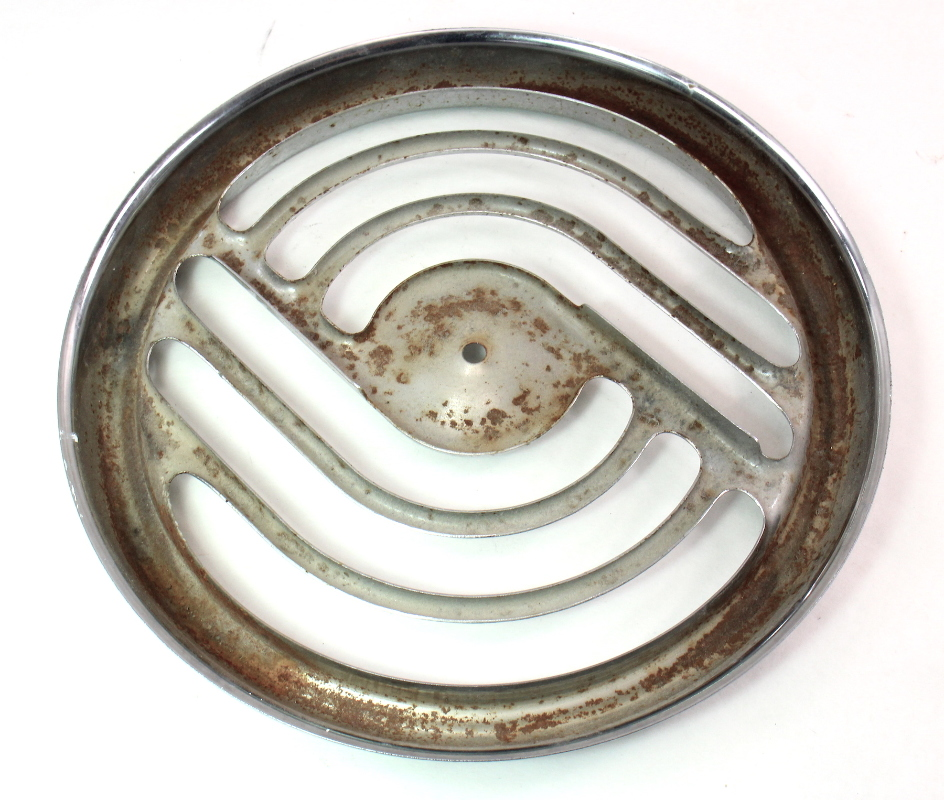 nutone vintage old school bathroom fan round grill cover