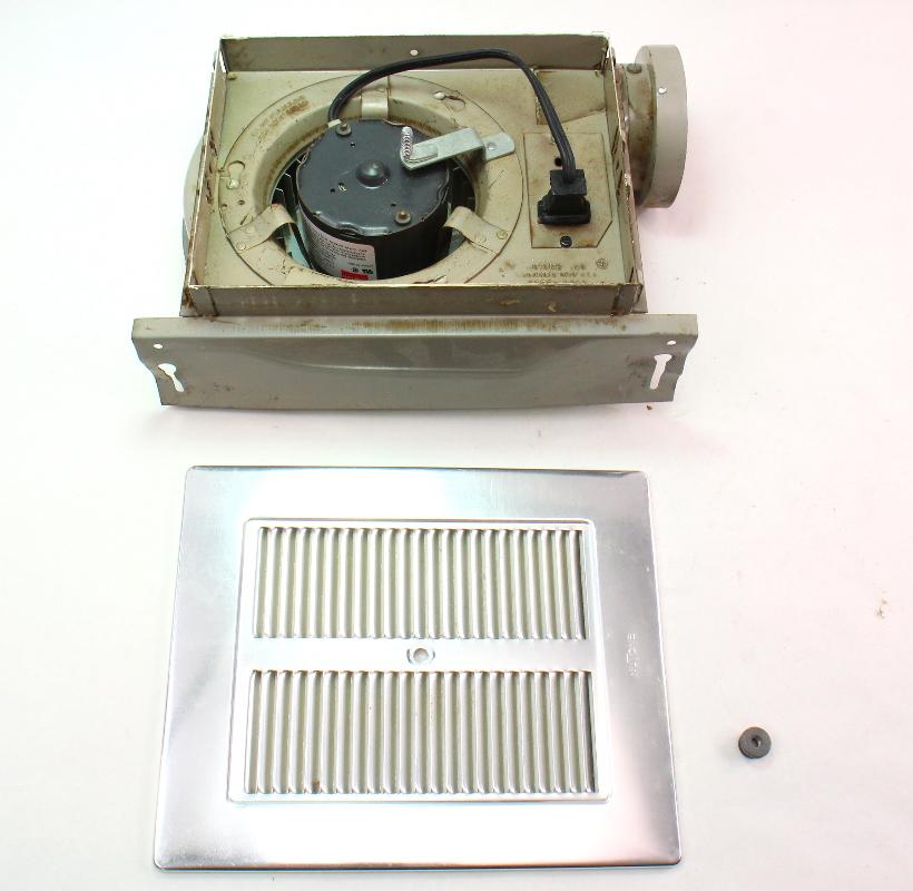 Nutone Model 8830 Vintage Old School Bathroom Fan Assembly