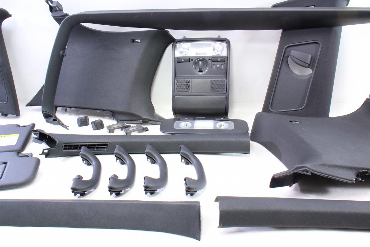 VW Golf For Sale >> Black Upper Headliner Interior Trim Swap 06-09 VW Golf ...