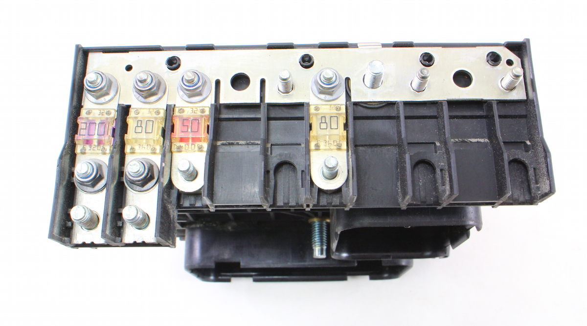 Fuse relay block vw jetta gti mk t under hood engine