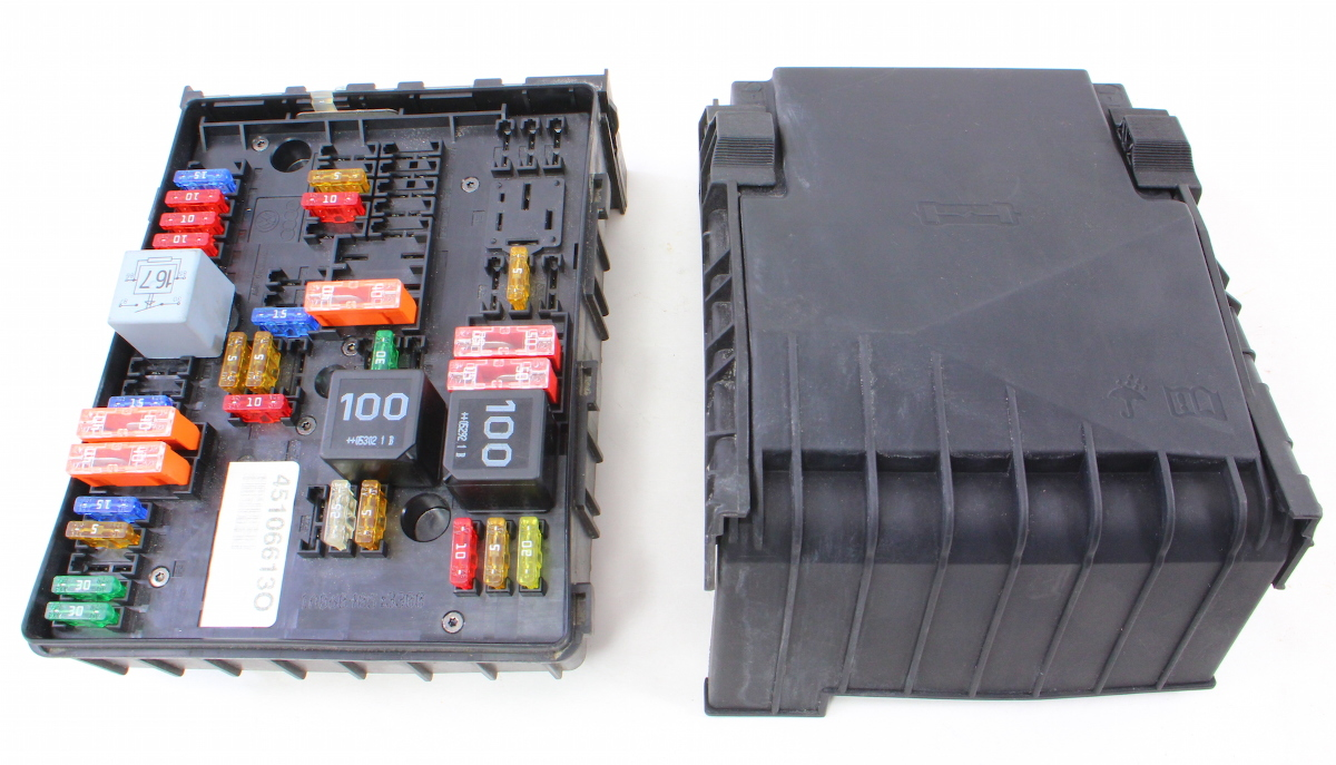 Mk5 Golf Gti Fuse Box : Fuse relay block vw jetta gti mk t under hood engine