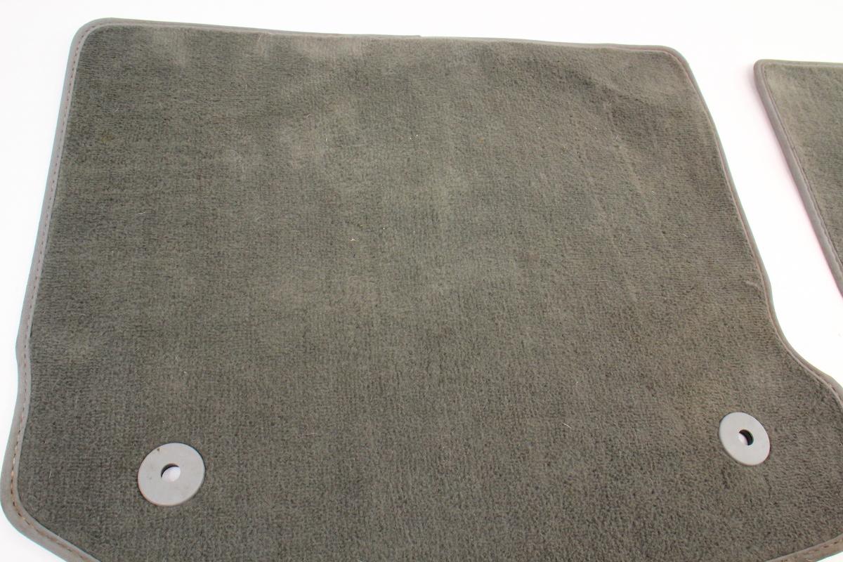 Rear Floor Mat Set 99 05 Vw Jetta Golf Gti Mk4 Grey