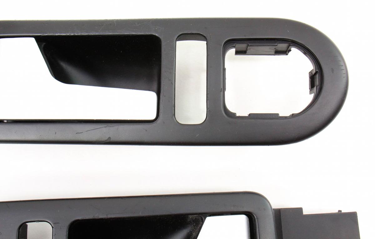 Brushed Aluminum Interior Door Pull Handles 98 10 Vw Beetle Turbo S Genuine Carparts4sale Inc