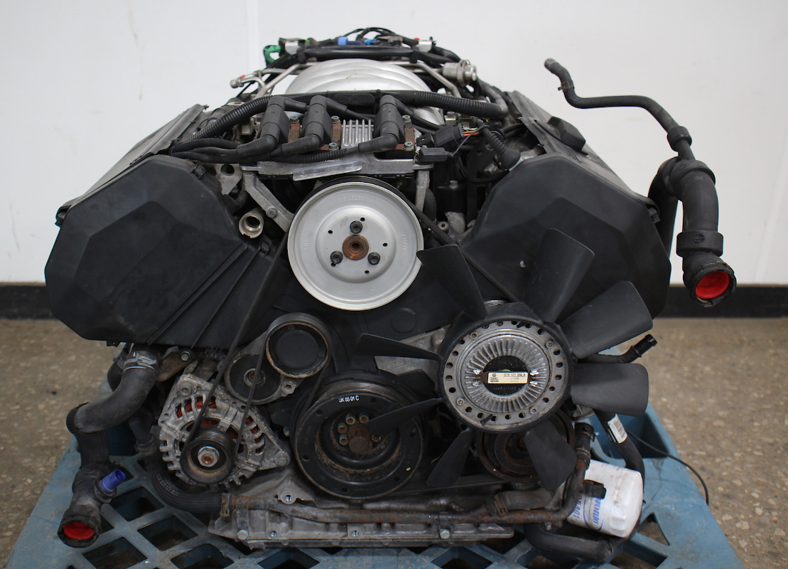 Cp V Complete Engine Motor Assembly V Atq Vw Passat Audi A
