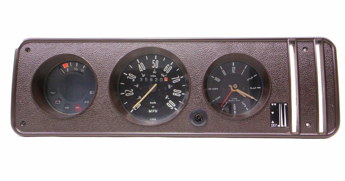 Audi Tt For Sale >> Gauge Cluster Speedometer 1978 VW Bus Transporter Bay ...