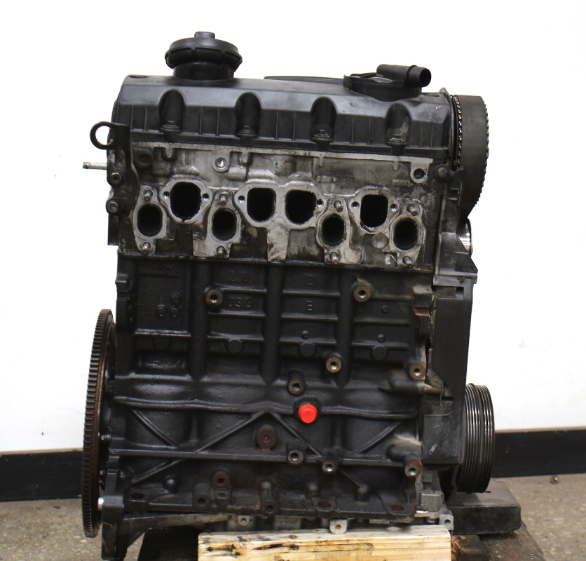 engine motor long block   vw passat  diesel  tdi bhw  miles carpartssale