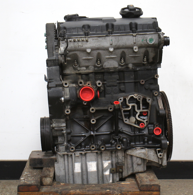 engine motor long block   vw passat  diesel  tdi bhw  miles carpartssale