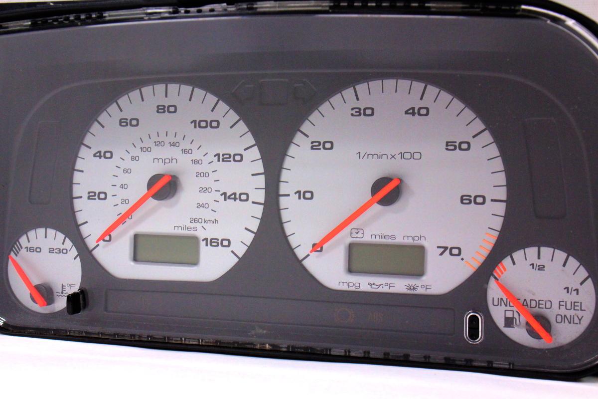 gauge instrument cluster speedometer   jetta glx gti vr mk hm    carpartssale