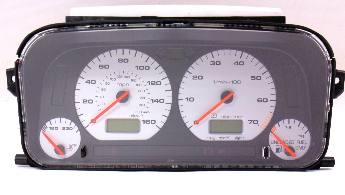 gauge instrument cluster speedometer 97 99 jetta glx gti. Black Bedroom Furniture Sets. Home Design Ideas