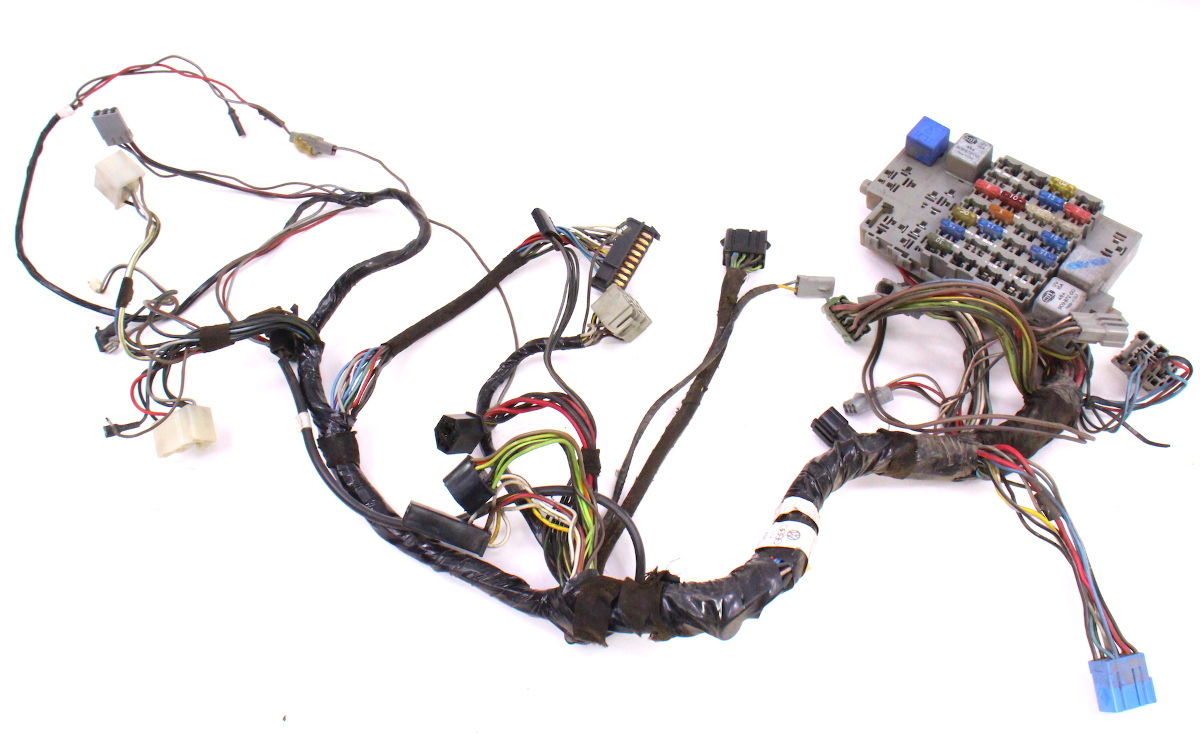 Rabbit Harness Wiring Example Electrical Diagram Dash Interior Fuse Box 81 83 Vw 1980