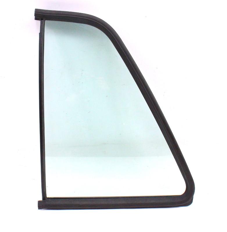 Lh rear quarter side window door exterior glass 85 92 vw for Back door with side window