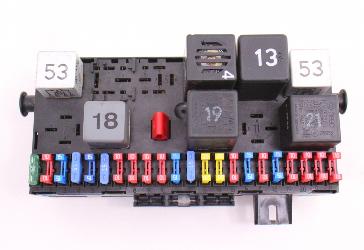 fuse box fuse block fusebox 85 92 vw jetta golf gti mk2. Black Bedroom Furniture Sets. Home Design Ideas
