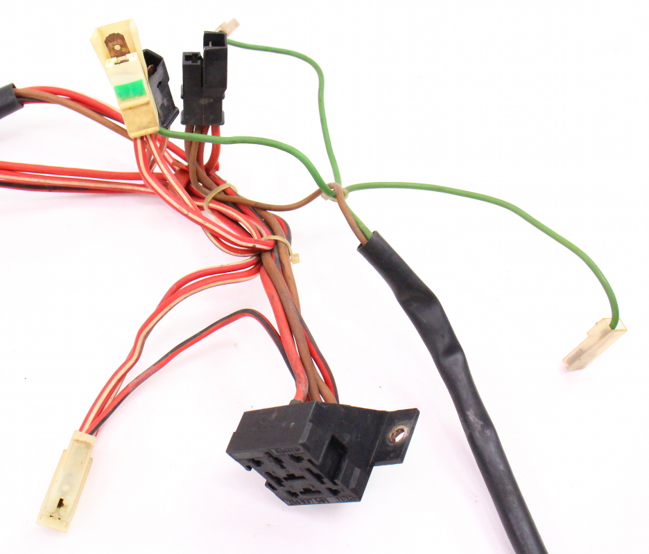 fan radiator temp engine wiring harness 88 92 vw jetta. Black Bedroom Furniture Sets. Home Design Ideas
