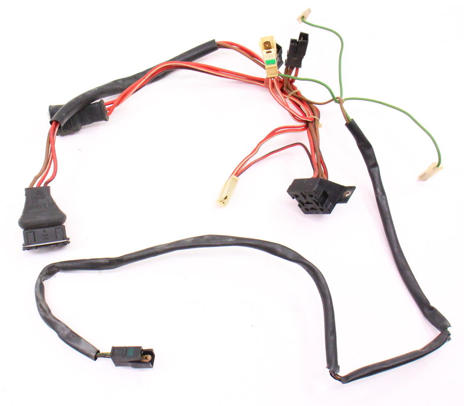 Fan Radiator Temp Engine Wiring Harness 88