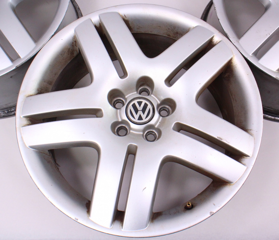 "17"" Wheel Set Long Beach Alloy Rim 99-05 VW Jetta Golf GTI MK4 - 5x100 Stock | CarParts4Sale, Inc."