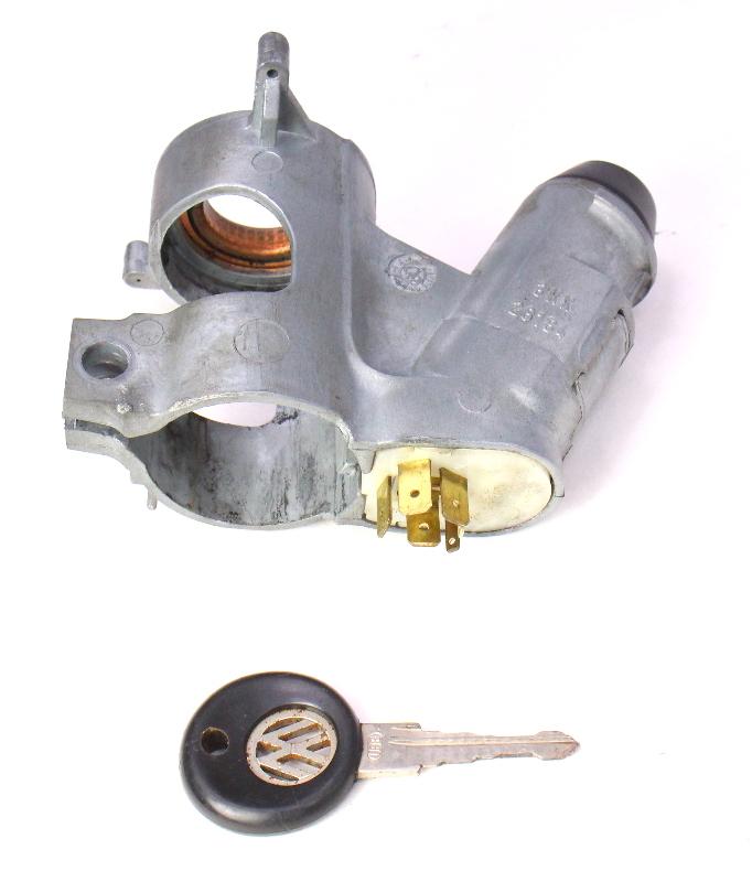 Toyota Collar Partnumber 9038921003: Ignition Collar Housing & Key 75-84 VW Rabbit GTI MK1