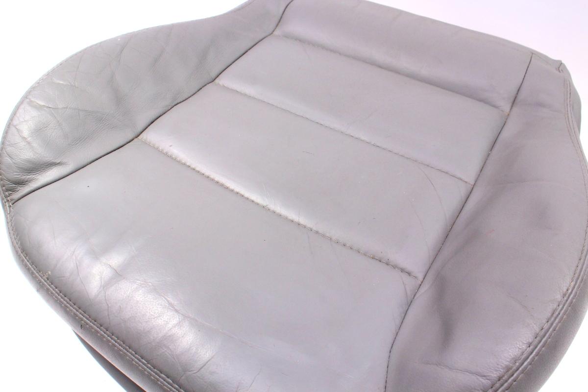front seat cushion cover vw jetta gti mk passat  heated grey leather carpartssale