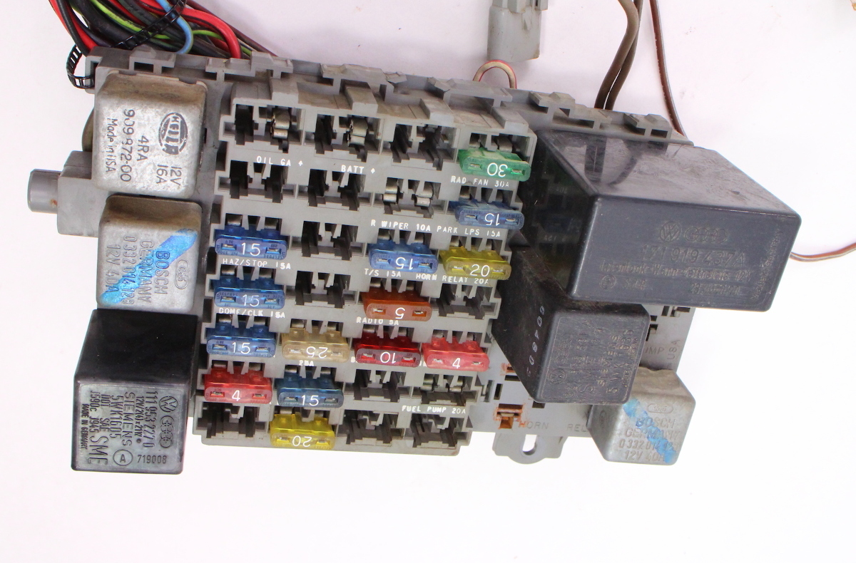 dash interior wiring harness   fuse box 81 84 vw rabbit 84 vw rabbit fuse box 84 GTI Profile