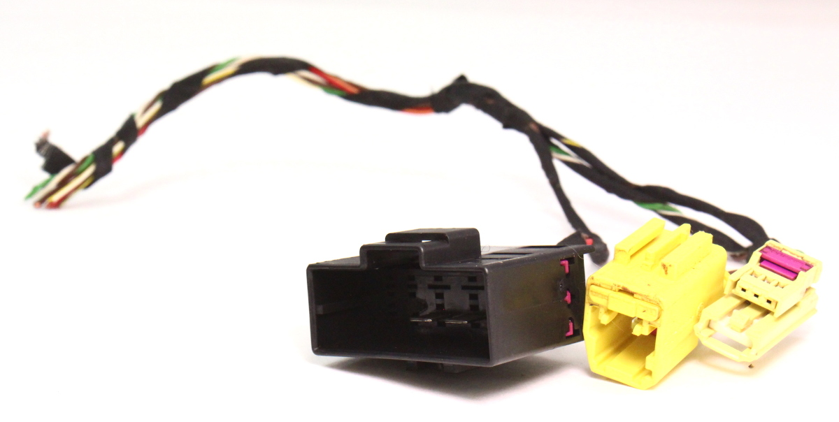 cp469462038 lh seat wiring harness plugs pigtails airbag 06 10 vw passat b6 genuine 2 lh seat wiring harness plugs pigtails airbag 06 10 vw passat b6 airbag wiring harness at readyjetset.co