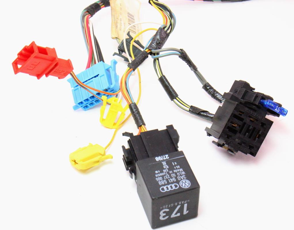 headlight switch wiring harness 99 02 vw cabrio mk3. Black Bedroom Furniture Sets. Home Design Ideas