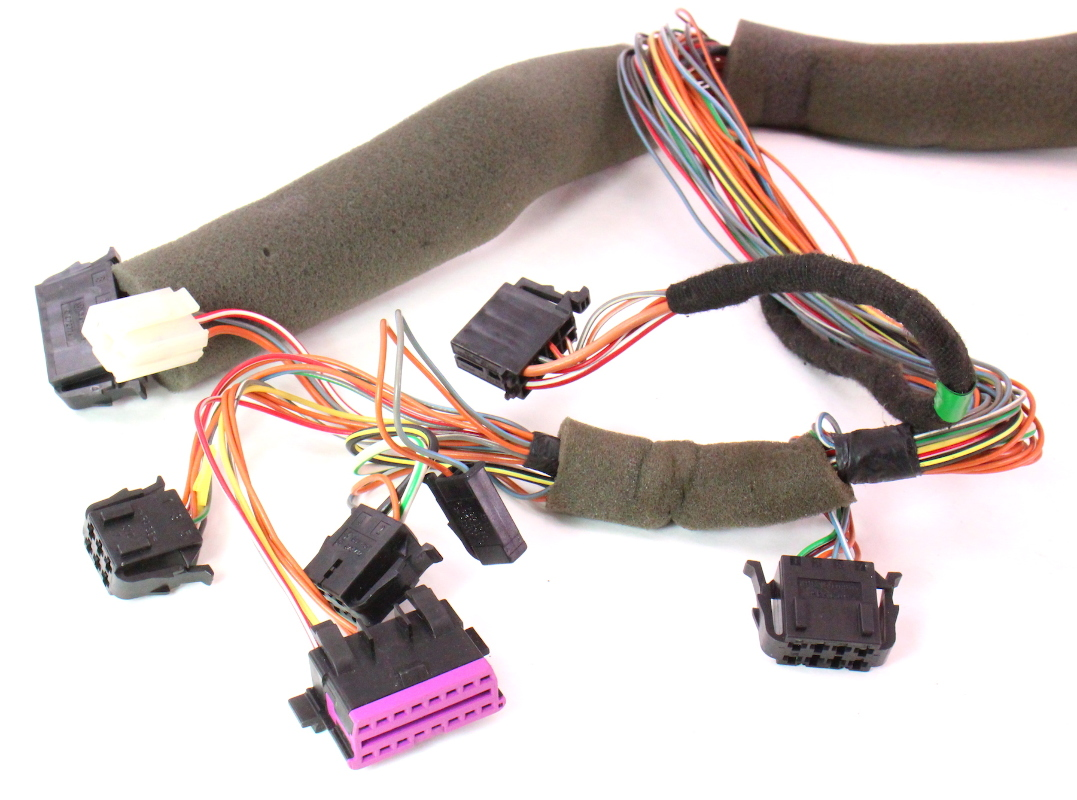 dash wiring harness 99 02 vw golf cabrio mk3 dashboard obd2 port carparts4sale inc