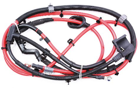 cp012954 positive battery cable harness 09 12 vw passat cc 36 vr6 genuine oe new new trunk battery cable wiring harness 09 12 vw passat cc 3 6 b6 2010 vw cc trunk wire harness routing at fashall.co