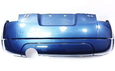 Cp Rear Bumper Cover Audi Tt Mk Denim Blue Pearl Lz W Genuine Oe