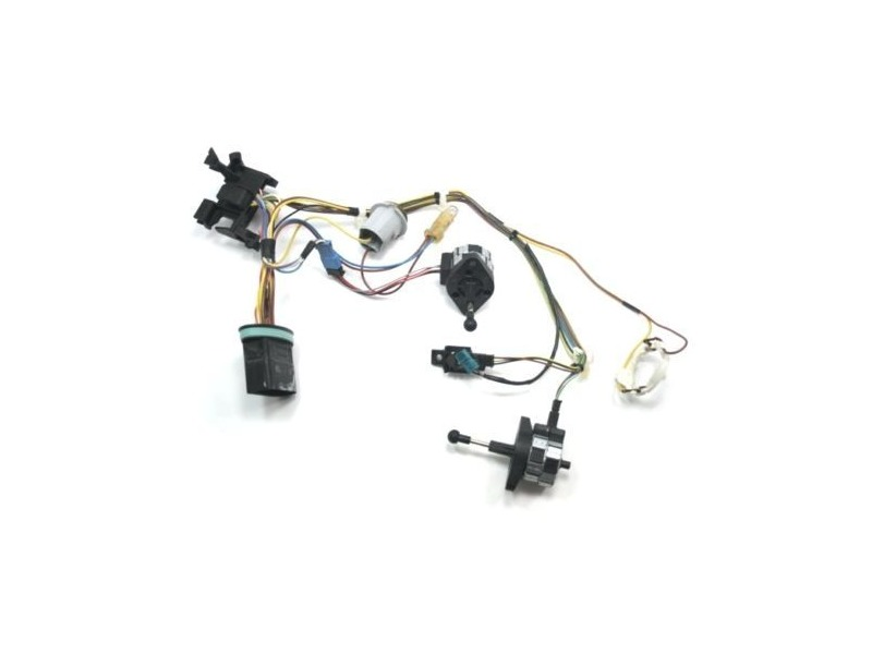 rh head light internal wiring harness 05