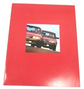 Original Dealer Showroom Brochure - 1989 Saab