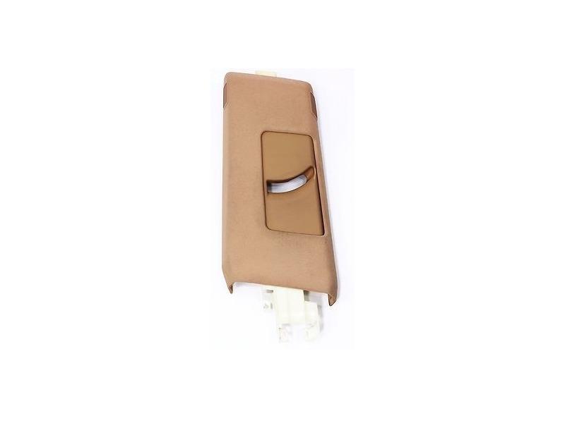 LH Upper B Pillar Trim Cover 00-03 Audi A8 S8 D2 - Coconut Brown  4D0 867 239 AG