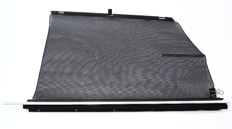 LH Rear Window Sun Shade Blind 00-03 Audi A8 S8 D2 - Jazz Brown - Genuine