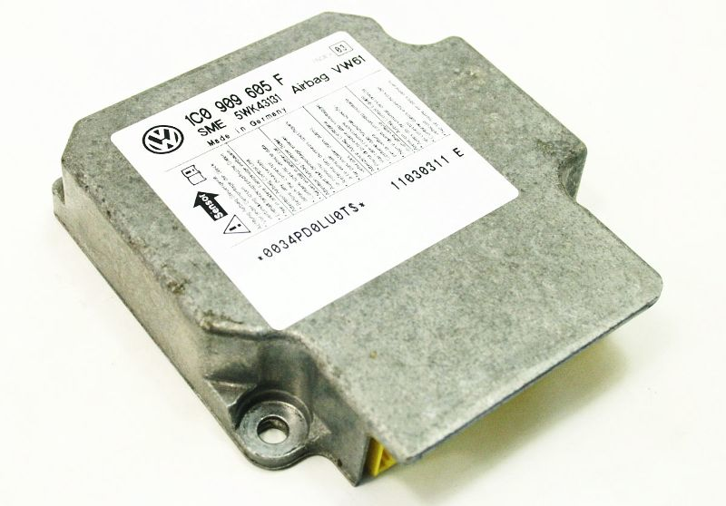 Airbag Module 2003 03 Vw Jetta Sedan Mk4 Genuine 1c0