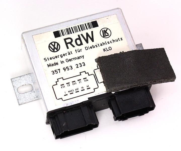 Alarm Module Computer 90-97 VW Passat B3 B4 - 357 953 233 - Genuine